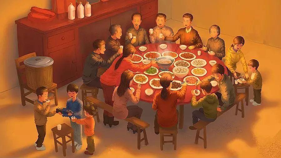 为什么那些在外打工的中国人春节一定要回家?
